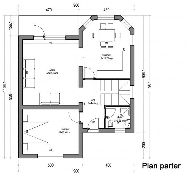 proiect tehnic casa